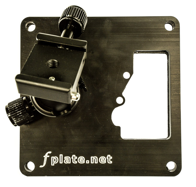fplate for holding the remote camera