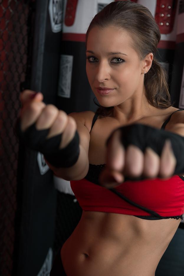 Vanessa Cobb MMA Training