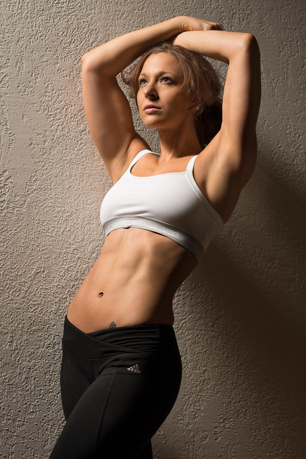 Vanessa Cobb, fitness model